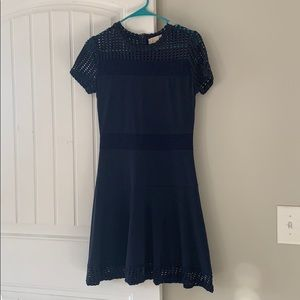 Michael Kors navy blues dress size small